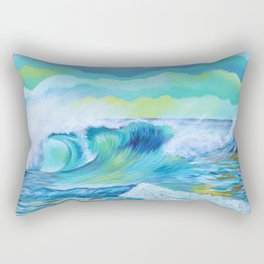 Wave 2.7 Rectangular Pillow