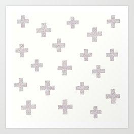 Swiss Cross Art Print