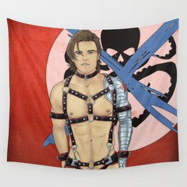 To Live and Submit Wall Tapestry