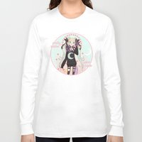 soldier Long Sleeve T-shirts featuring ☽ Pretty Soldier ☾ by ♡ SUSHICORE ♡
