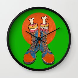 Coulrophobia (Clown Phobia) Wall Clock