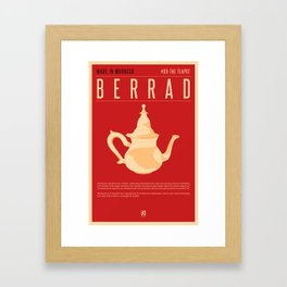 MADE IN MOROCCO #09-THE TEAPOT Framed Art Print