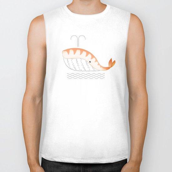 Legal Whale-Sushi Biker Tank