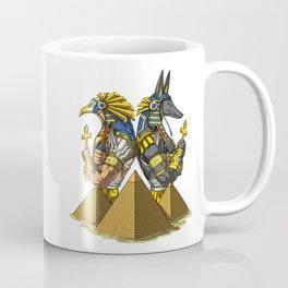 Gods Anubis Ra Egyptian Pyramids Coffee Mug