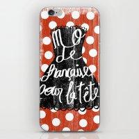 depeche mode iPhone & iPod Skins featuring MODE by Celia Sáez