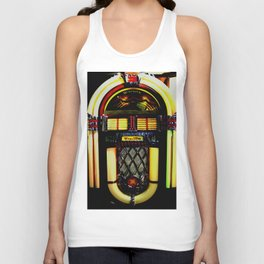 Wurlitzer Jukebox  Unisex Tank Top