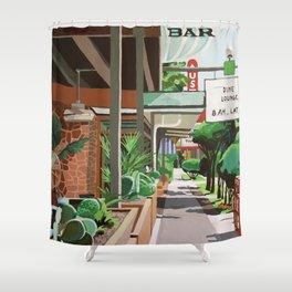 Cactus Cafe Shower Curtain