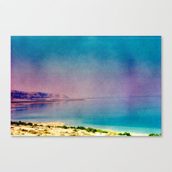 Dreamy Dead Sea II Canvas Print