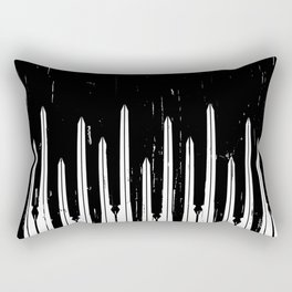 Might Makes Right Rectangular Pillow