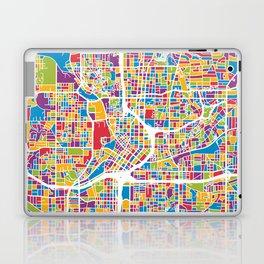 Atlanta Georgia City Map Laptop & iPad Skin