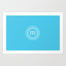 All around M Art Print