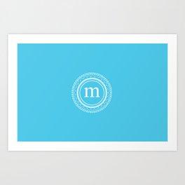 All around M Art Print