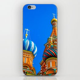 St. Basil's cathedral iPhone Skin