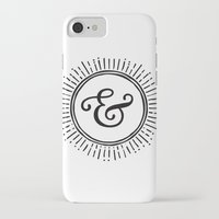 ampersand iPhone & iPod Cases featuring Ampersand by creative index