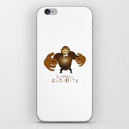 Courteous Security iPhone Skin
