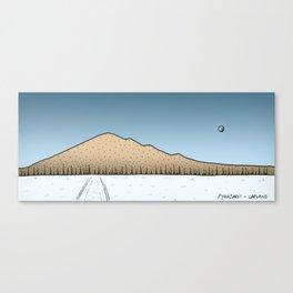 Pyhajarvi - Finnish Lapland - DAY Canvas Print