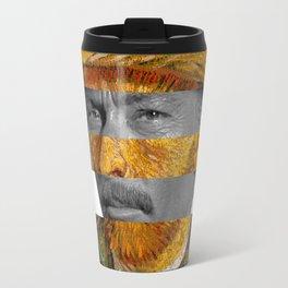 Van Gogh's Self Portrait & Lee Van Cleef Travel Mug