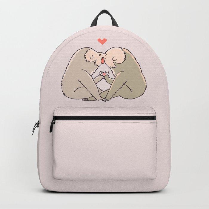 Sloth Kisses Backpack