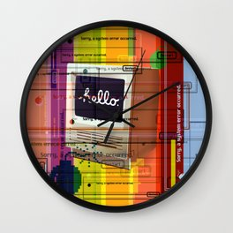 Hello Mac Wall Clock