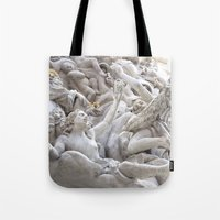 angels Tote Bags featuring Angels by Photographicleigh