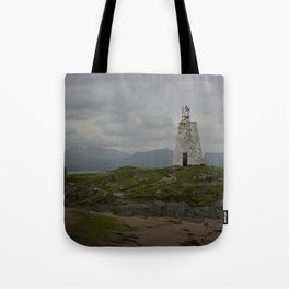 Tŵr Bach Lighthouse Tote Bag