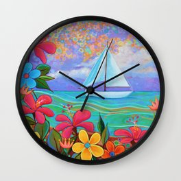 Sailors Delight Wall Clock
