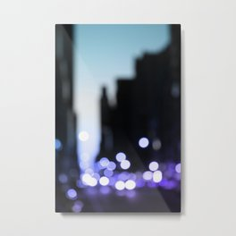 Big lights will inspire you Metal Print