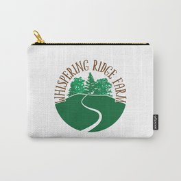 Whispering Ridge Farm Circle Carry-All Pouch