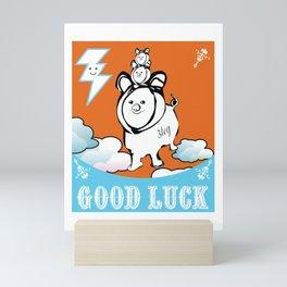 Good Luck Chanchitos Mini Art Print