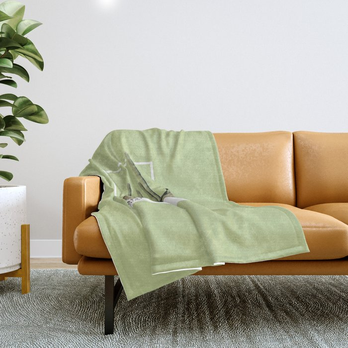 Pantone Series – Cactus Throw Blanket