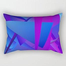 Rhapsody in Blue 5 Rectangular Pillow