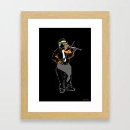 Violinista Framed Art Print
