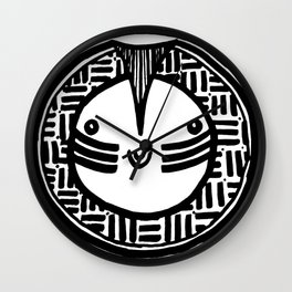 Happy People: Face 5 Wall Clock