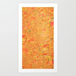 cadmium fusion Art Print