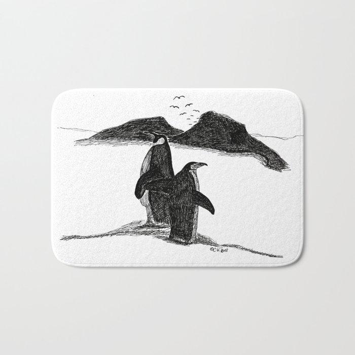 Penguins Badematte