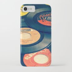 Take those old records off the shelf iPhone 7 Slim Case