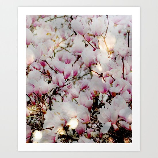 Bright and Blooming Art Print
