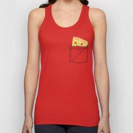 Emergency supply - pocket pizza Unisex Tank Top