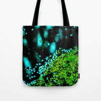 lily Tote Bags featuring Lily  by Faded  Photos