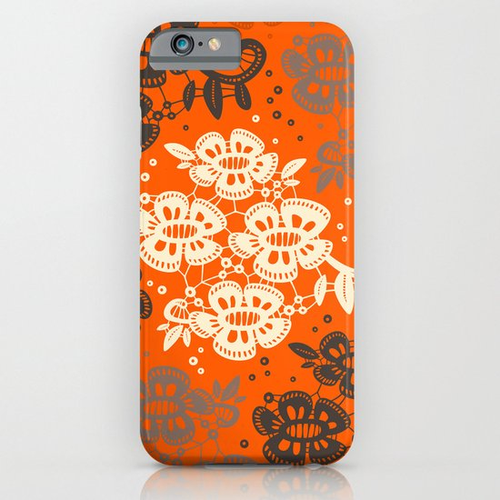 Floral Pattern #2 iPhone & iPod Case