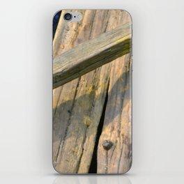 Woodwork iPhone Skin