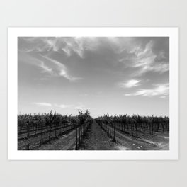 Tuscany 02 Art Print