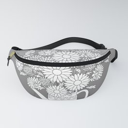 summer yellow butterfly Fanny Pack