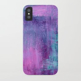 Purple Haze Background iPhone Case
