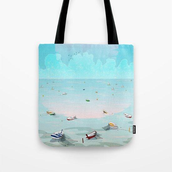Between two waters Tote Bag