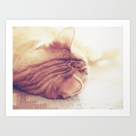 Lazy Day Art Print