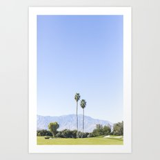 Twin Palms, Palm Springs Art Print