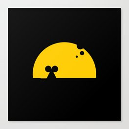 The best moonrise (for every mouse) Canvas Print