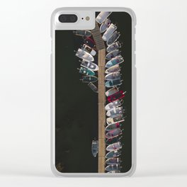 Parking dock Clear iPhone Case