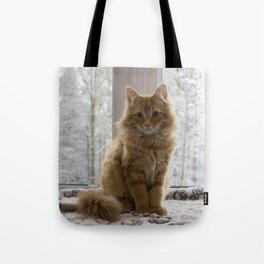 Pudding the kitten Tote Bag